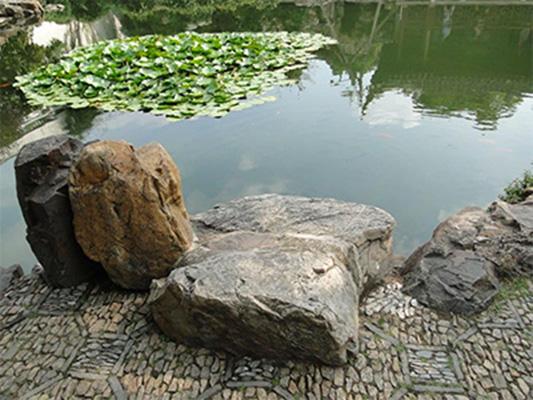 southern china garden rocks